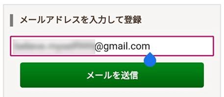 ヴェルニ 登録 Gmail